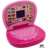GRAPPLE DEALS Learning And Educational Laptop With LED Screen Learning With Fun For Kids.(PINK)