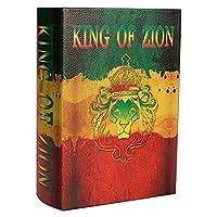 Original Kavatza Joint Box Mini as a King of Zion secret book - wooden box MB3