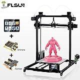 FLSUN 3D Drucker Plus Größe Prusa i3 Diy Kit 300x300x420mm Selbstnivellierung Große Druckgröße Beheizte Bett Volle Geschenke PLA, ABS Filament 1.75mm