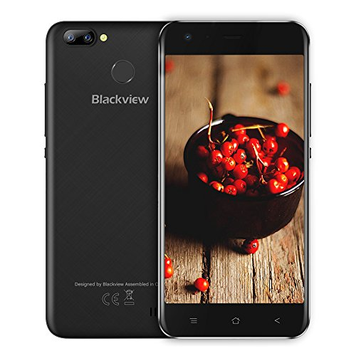 Blackview A7 Pro Movil Libre,8MP+5MP Dual Cámaras de 16GB ROM +2GB RAM,2800mAh Battery 5.0 Pantalla HD,Android 7.0...