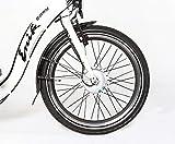 Enik E-Bike Klapprad EASY 20, 20 Zoll, 3 Gang, Frontmotor, 317 Wh 50,8 cm (20 Zoll) - 6
