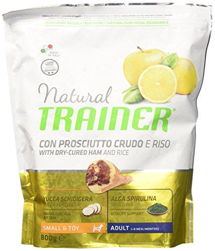 Natural Trainer Trainer Natural Small Prosciutto Riso GR. 800 Cibo Secco per Cani, Multicolore, Unica
