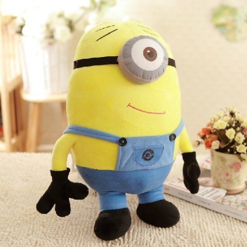 Image of Despicable Me 3D Deluxe Plush Figure Minion Stuart Cute Plush 50cm