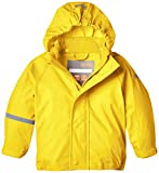 CareTec Kinder Wasserdichte Regenjacke, Gelb (Yellow 324), 86