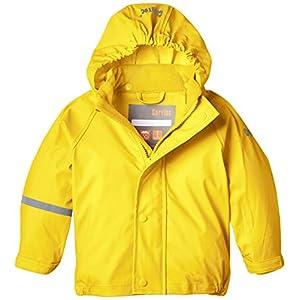 CareTec Giacca impermeabile Unisex bambino, Giallo (Yellow 324), 128