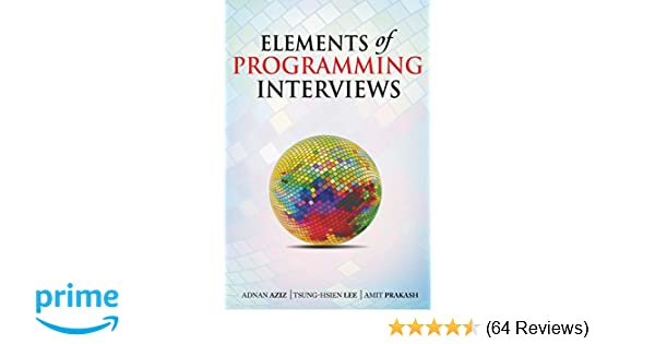 Buy Elements of Programming Interviews Book Online at Low Prices in