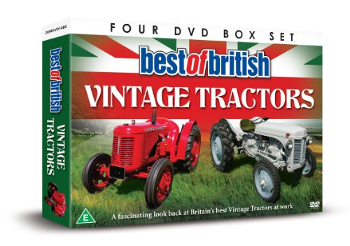 Best Of British Vintage Tractors [DVD]