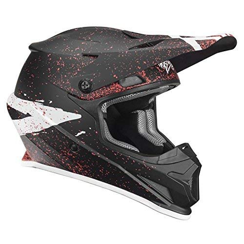 Thor Sector Hype Motocross Helm Spring 2018 - Schwarz Coral