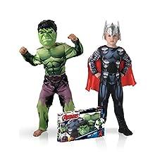 Classic Hulk + Thor, Boys, 155039 m Assembly, M rubies-bi
