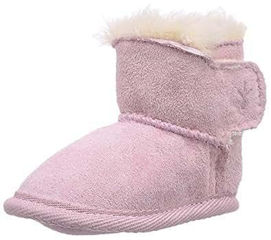 Emu Unisex-Baby Baby Booties B10310 Pink 0-6 Months, 15 EU, Regular