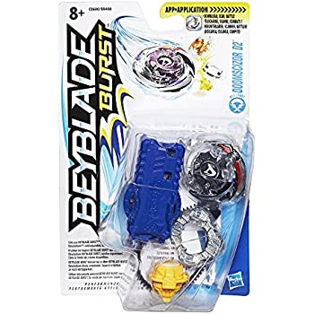 Beyblade Burst - C0600 - Pack Starter Doomscizor 2 (1 toupie + 1 Lanceur)