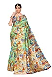 Riti Riwaz Art Silk with Blouse Piece Saree (S183463_Green_Free Size)