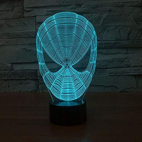 orangeww 3D Visuelle Star Wars Krieger Nightlight Für kinder Touch Led Wonder Woman Modellierung Hulk Led Super Hero Tischlampe Raumdekoration Freund Kollege Geschenk