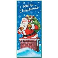 Unique 17474 - Accessori Party Natale , Banner Per Porta Merry Christmas