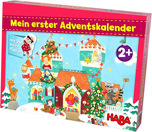 51nddNWzLwL - HABA 304904 Mein erster Adventskalender Prinzessinenschloss, für Kinder ab 2 Jahren
