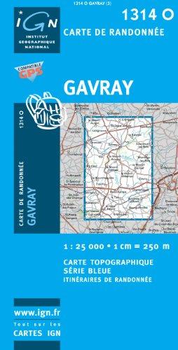 1314o Gavray par Institut Géographique National