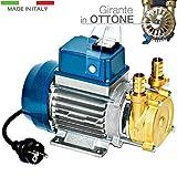 Pompa Centrifuga 1Hp 5CRm80N Multigirante Acciaio Inox 220V Acqua 5CR Pedrollo