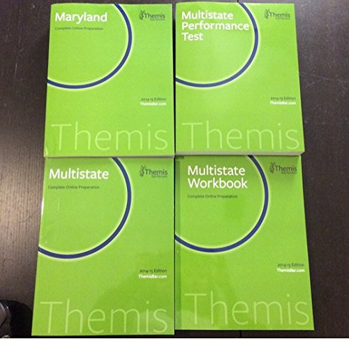 Themis Bar Review: Maryland Complete Online Preparation 2014-15 Edition