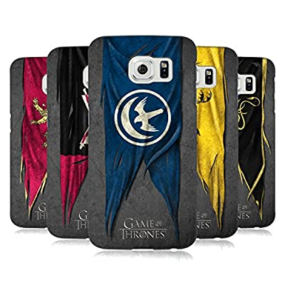 Official HBO Game Of Thrones Sigil Flags Hard Back Case for Samsung Phones 1