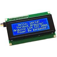 Gaoxing Tech. IIC / I2C / TWI Serial 2004 Bouclier de module LCD 20x4 pour Arduino UNO MEGA R3