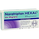 Naratriptan Hexal bei Migräne 2,5mg, 2 St