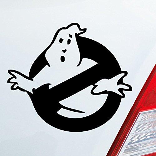 Dekorationen Ghostbusters (Auto Aufkleber in deiner Wunschfarbe Ghost Busters Ghostbusters Geist Ghost 10x9cm Autoaufkleber Sticker)