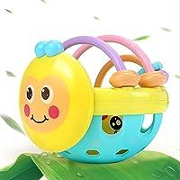 Juguetes Divertidos para niños Baby Plastic Hand Hand Rattles Bell Niños Funnny Ball Toys Regalo (