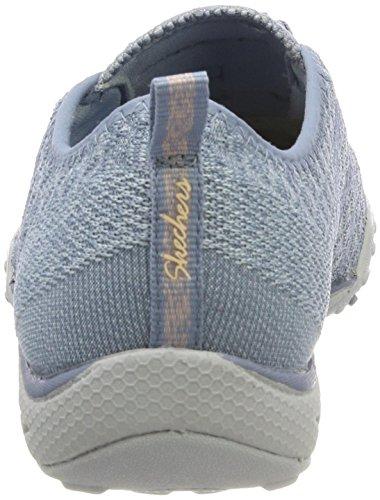 Skechers Damen Breathe Easy-Fortune Knit Sneaker Blau (Blue)