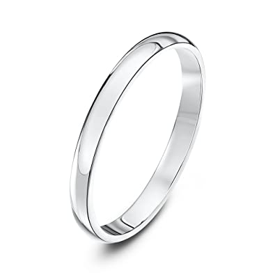 theia unisex super heavy d shape polished 18 ct gold wedding ring amazoncouk jewellery - Wedding Rings Amazon