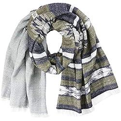 Camel Active Womenswear 307520 Fulár, Verde (Military Green 32), Talla única para Mujer