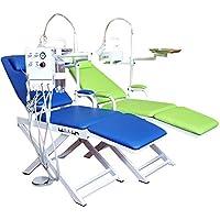 TT Dental portátil plegable silla/bombillas de 5W LED luz lámpara/residuos cuenca (2H)