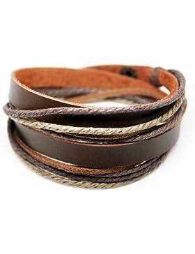 axy TWIC6 TIBET WICKELARMBAND SERIE 6! ECHT LEDER Armband Leather Bracelet!