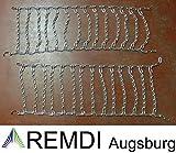 Remdi Augsburg Schneeketten 16x7.50-8 (16 x 7.50-8) Profi Ausführung Gliederstärke 4,5mm