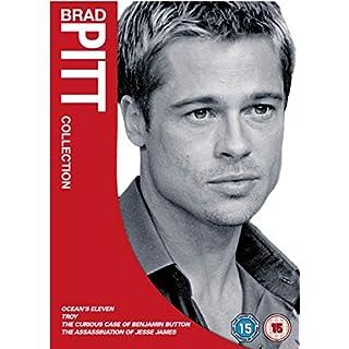 Brad Pitt Box Set - Oceans 11 / Troy / Benjamin Button / The Assassination Of Jesse James [DVD]