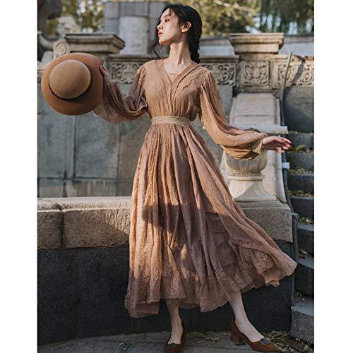 Cxlyq Kleid Retro Wind Super Fee Über Dem Knie Ist Sehr Fee Kleinen Rock Süße Zweiteilige Anzug Sommerkleid