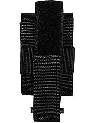 MFH Práctico soporte de guante para emparejar o cinturón NYLON Negro Security Guantes Cinturón Soporte fijación nuevo