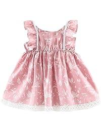 Vestido Para Bebé NiñAs DRESS Start® Vestido Linda ImpresióN Vestido De Sin Mangas Princesa Fiesta