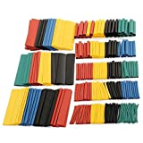 Vkospy 328pcs Colorful Heat Shrink Tubing Sleeving Wrap Cable Wire Tubes Set 8 Size