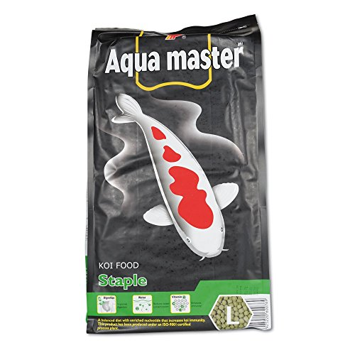 Aqua Master Staple 5kg, 6,5mm Koifutter Teich Koi Fischfutter Empfehlung