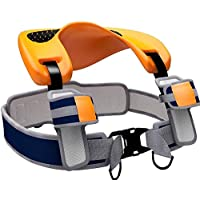 FQXM Shoulder Seat Saddle, Ergonomic Child Ankle Strap Design, Comfortable Seat, Suitable for Children 2-5 Years Old
