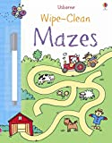 Wipe-Clean Mazes (Usborne Wipe Clean Books)