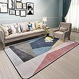 Bath Time Flagship Store LUYIASI- Teppich Wohnzimmer Einfache Moderne Schlafzimmer Voller Couchtisch Sofa Home Nacht Teppiche Non-Slip Mat (Farbe : A, Größe : 120x180cm)