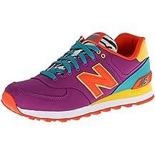 New Balance WL 574 PY Schuhe purple-yellow-orange - 40