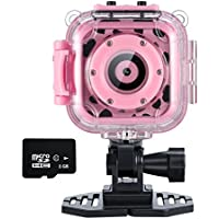 Ourlife Kids Camera, Action Camera for kids with Video Recorder includes 8GB memory card