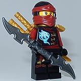 LEGO Ninjago: Minifigur Nya Skybound mit GALAXYARMS Doppelklingenschwert -