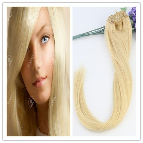 35,6 cm 40,6 cm 45,7 cm 50,8 cm 55,9 cm remay cheveux Extensions en cheveux 100% humains