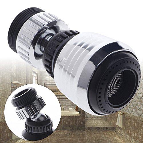Cold Toy 360 Drehen Swivel Wasserhahn Düse Filter Adapter Wassersparhahn Belüfter Diffusor(10PCS) (Mädchen Eingebaut Spülen)