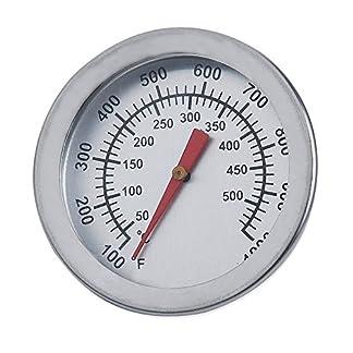 Termómetro de aguja de acero inoxidable para barbacoas, de +ing