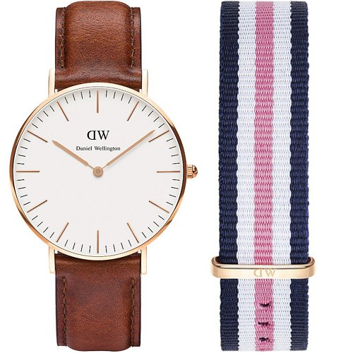Daniel Wellington St Mawes 0507DW-0506SET Ladies' Watch and Replacement Strap