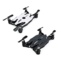 Hanbaili H49 Ultra Thin Foldable Drone With 720P Camera Live Video,Headless Mode,Altitude Hold,Selfie Drone For Girls